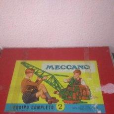 Juegos construcción - Meccano: MECANO ANTIGUO. Lote 220794755