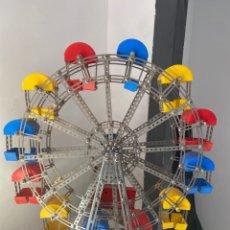 Juegos construcción - Meccano: NORIA DE MECANO. Lote 222325771
