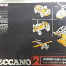 Juegos construcción - Meccano: JUEGO DE CONTRUCCION MECCANO 2. Lote 224674350