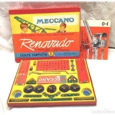 Juegos construcción - Meccano: MECCANO RENOVADO CAJA DE CONSTRUCCIÓN DE Nº 1, COMPLETA BUEN ESTADO. Lote 225086480