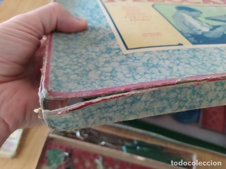 Juegos construcción - Meccano: Meccano Español. Años 30, contiene ticket de 1936. Creo que no falta ninguna pieza. Negociable. - Foto 26 - 225115468
