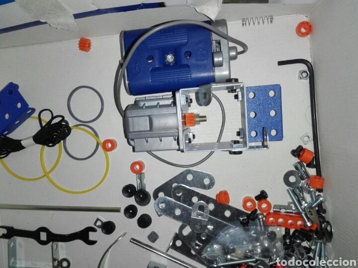 Juegos construcción - Meccano: LOTE MECCANO- CON HERRAMIENTAS MOTOR Y PORTAPILAS - Foto 3 - 227274050