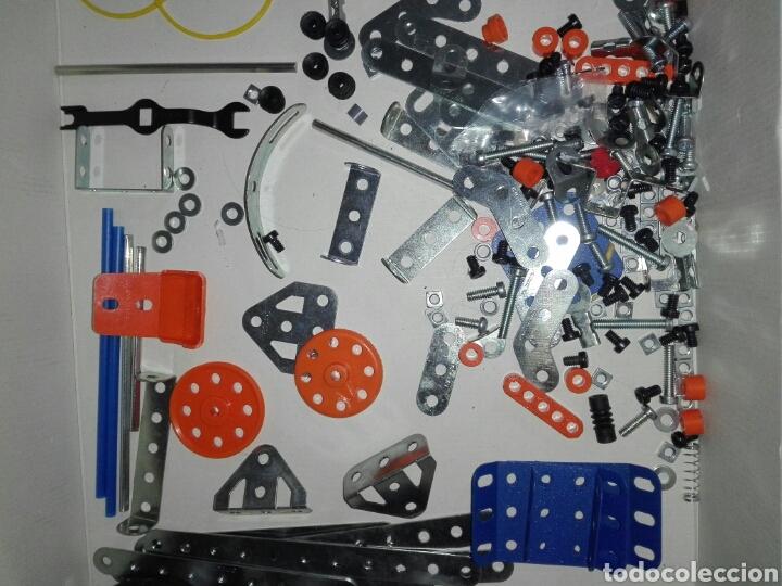 Juegos construcción - Meccano: LOTE MECCANO- CON HERRAMIENTAS MOTOR Y PORTAPILAS - Foto 5 - 227274050