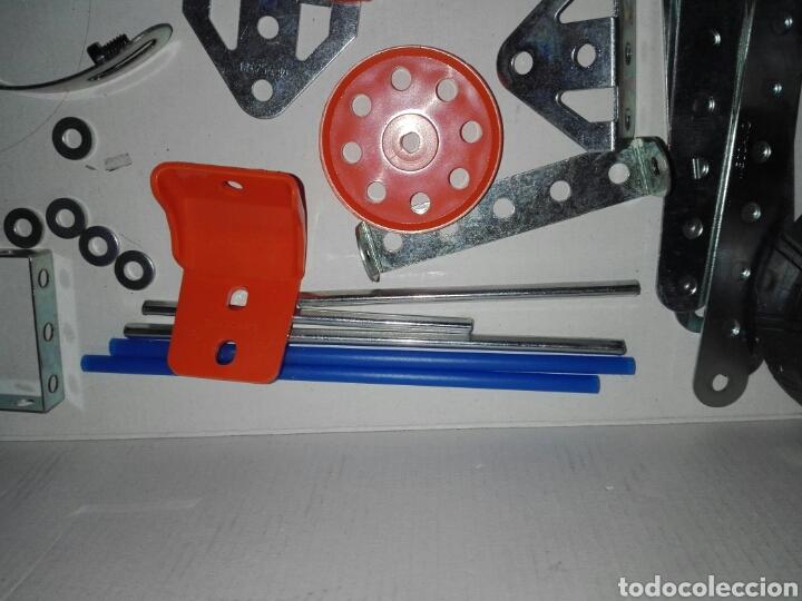Juegos construcción - Meccano: LOTE MECCANO- CON HERRAMIENTAS MOTOR Y PORTAPILAS - Foto 6 - 227274050