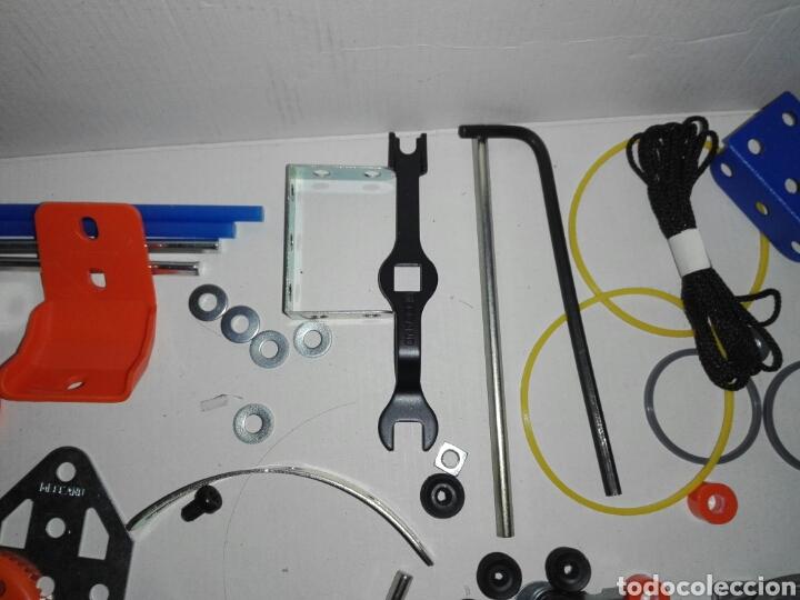 Juegos construcción - Meccano: LOTE MECCANO- CON HERRAMIENTAS MOTOR Y PORTAPILAS - Foto 7 - 227274050