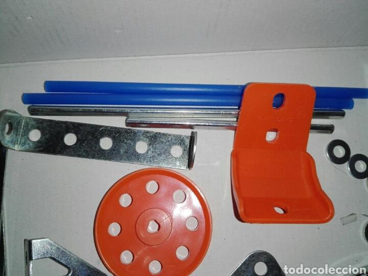 Juegos construcción - Meccano: LOTE MECCANO- CON HERRAMIENTAS MOTOR Y PORTAPILAS - Foto 9 - 227274050