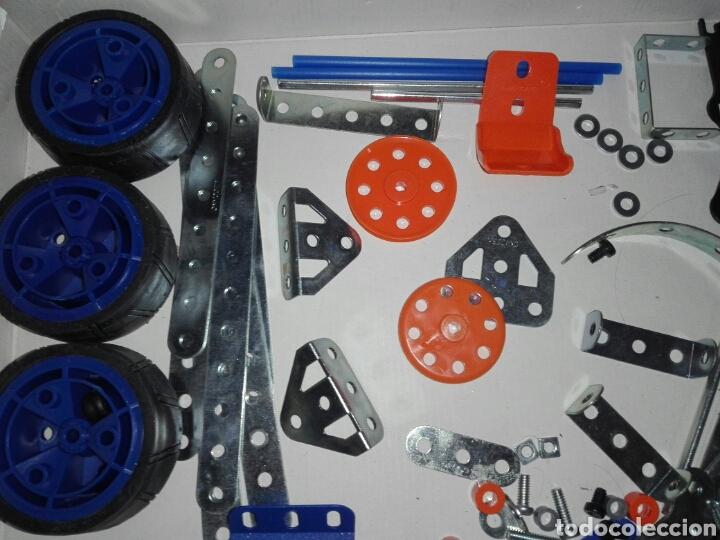 Juegos construcción - Meccano: LOTE MECCANO- CON HERRAMIENTAS MOTOR Y PORTAPILAS - Foto 10 - 227274050