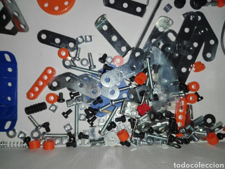 Juegos construcción - Meccano: LOTE MECCANO- CON HERRAMIENTAS MOTOR Y PORTAPILAS - Foto 11 - 227274050