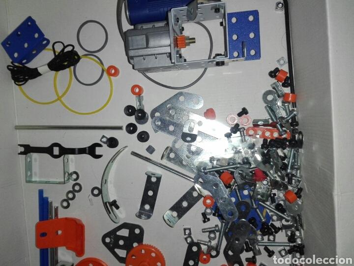 Juegos construcción - Meccano: LOTE MECCANO- CON HERRAMIENTAS MOTOR Y PORTAPILAS - Foto 12 - 227274050