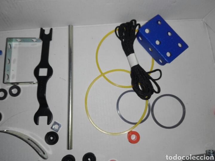 Juegos construcción - Meccano: LOTE MECCANO- CON HERRAMIENTAS MOTOR Y PORTAPILAS - Foto 14 - 227274050