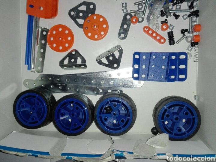 Juegos construcción - Meccano: LOTE MECCANO- CON HERRAMIENTAS MOTOR Y PORTAPILAS - Foto 15 - 227274050