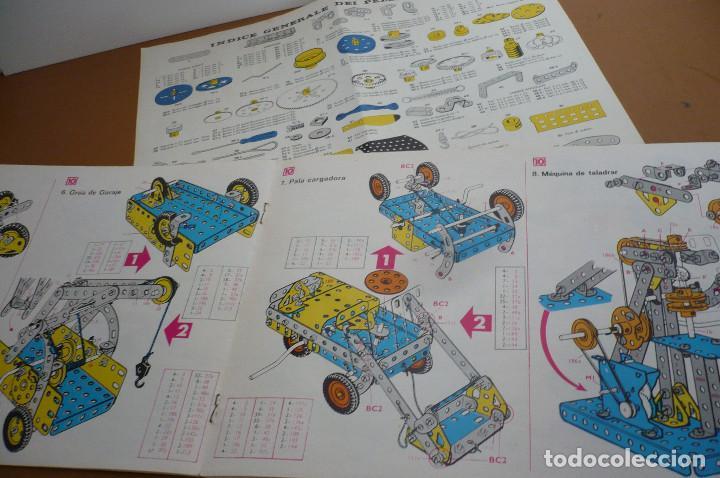 Juegos construcción - Meccano: manual instrucciones metaling 10 +indice general piezas - Foto 2 - 236613865