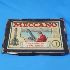 Juegos construcción - Meccano: JUEGO DE CONSTRUCCIÓN- MECCANO NÚMERO 1 - INGENIERÍA PARA NIÑOS. Lote 231311215