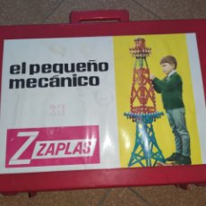 Jeux construction - Meccano: PEQUEÑO MECÁNICO DE ZAPLAS. MUY COMPLETO. JUEGO DE CONSTRUCCIÓN. Lote 231580040