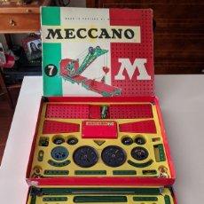 Giochi costruzione - Meccano: GRAN CAJA MECCANO NÚMERO 7. AÑOS 60.. Lote 232542145