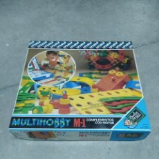 Juegos construcción - Meccano: MULTIHOBBY FEBER M-1. COMPLEMENTOS CON MOTOR MÚSICAL DE FEBER. JUGUETE DE 1982. Lote 232892525