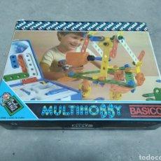 Juegos construcción - Meccano: MULTIHOBBY FEBER BÁSICO. MALETÍN CON TALADRO Y PIEZAS, DE 1982. Lote 232893420