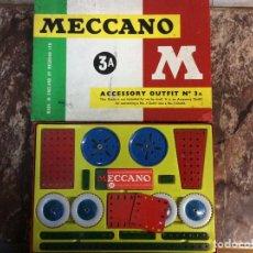 Juegos construcción - Meccano: MECCANO - CAJA 3A COMPLETA - VER FOTOS. Lote 235566070