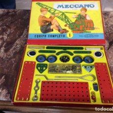 Juegos construcción - Meccano: MECCANO - EQUIPO COMPLETO 1:- VER FOTOS. Lote 235566450