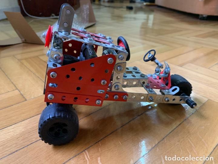 COCHE TIPO MECCANO A MOTOR (Juguetes - Construcción - Meccano)