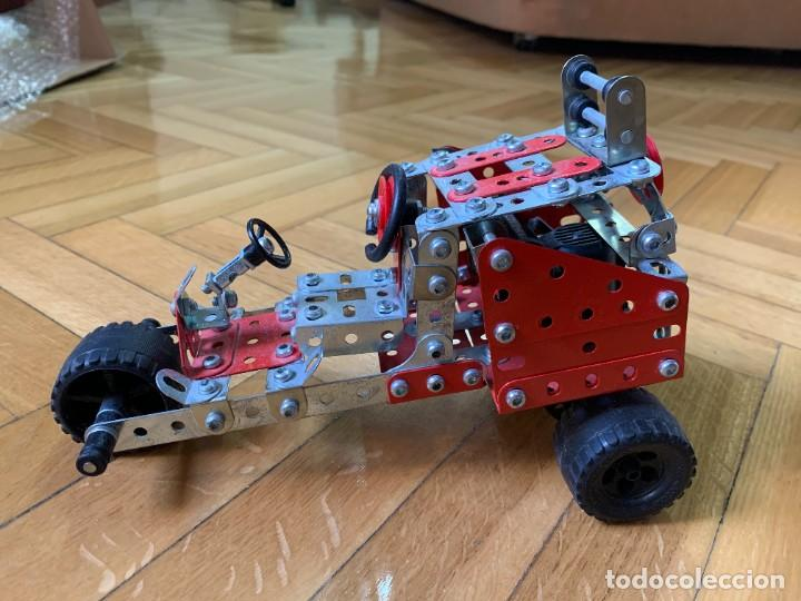 Juegos construcción - Meccano: Coche tipo Meccano a motor - Foto 3 - 240991885