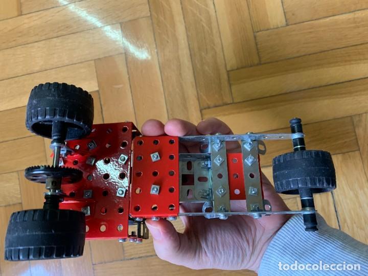 Juegos construcción - Meccano: Coche tipo Meccano a motor - Foto 5 - 240991885