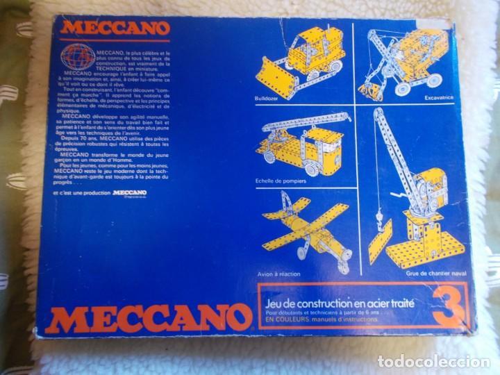 Juegos construcción - Meccano: Gastos 8€. juego de construccion MECANO Nº 3 . - Foto 2 - 241456195