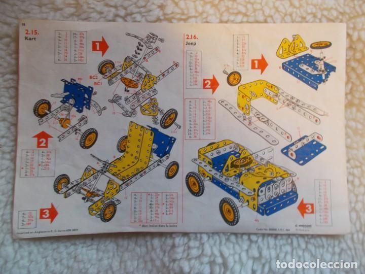 Juegos construcción - Meccano: Gastos 8€. juego de construccion MECANO Nº 3 . - Foto 5 - 241456195