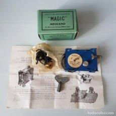 Juegos construcción - Meccano: MECCANO MOTOR DE CUERDA MAGIC.MOTOR. NUEVO EN SU CAJA ORIGINAL.. Lote 242891915