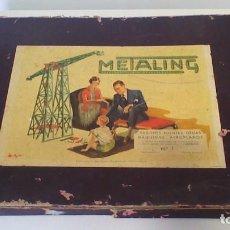 Giochi costruzione - Meccano: CAJA DE CONSTRUCCIONES METALING. Lote 242968250