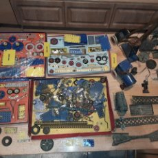 Juegos construcción - Meccano: MECANNO GRAN LOTE, CON INSTRUCCIONES.. Lote 244892440