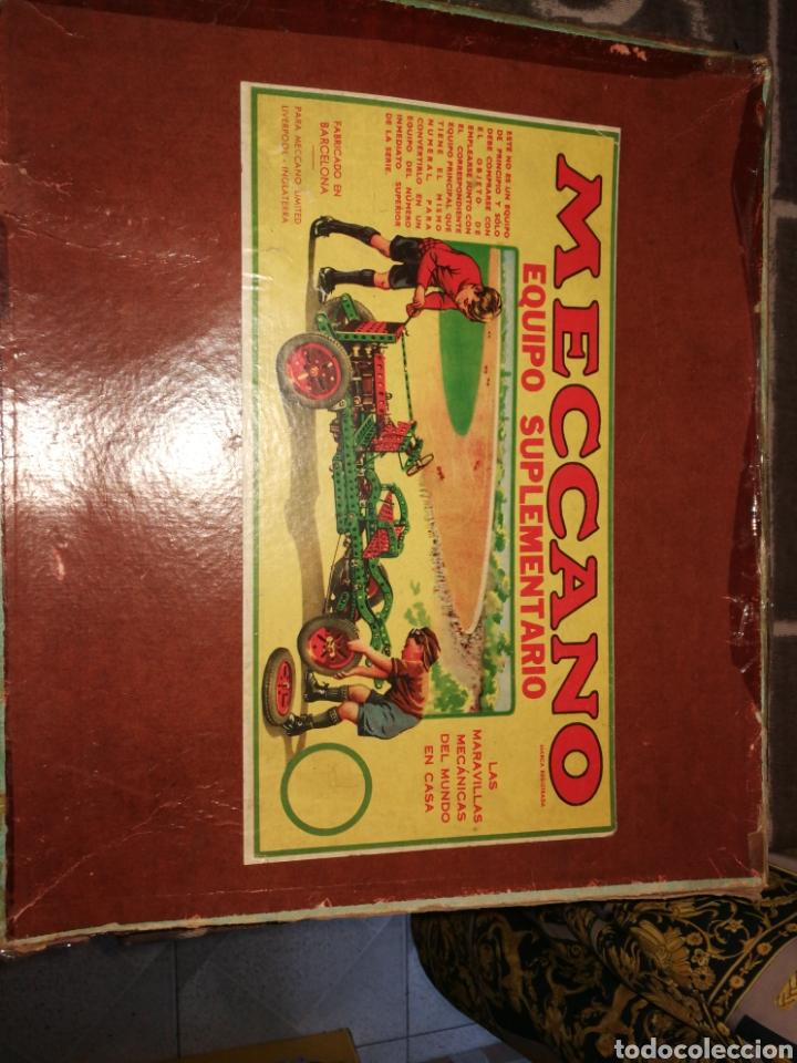 MECANO 3A MUY ANTIGUO (Juguetes - Construcción - Meccano)