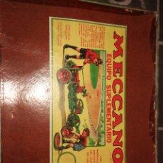 Juegos construcción - Meccano: MECANO 3A MUY ANTIGUO. Lote 244971760
