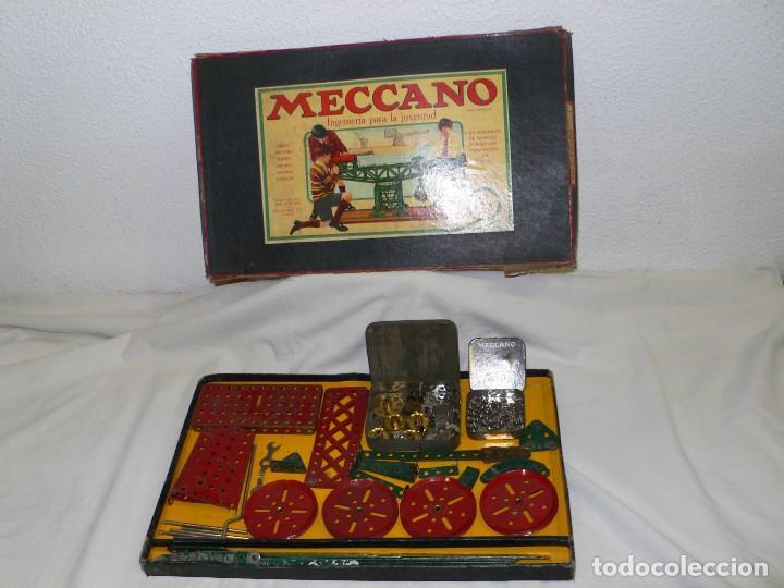Juegos construcción - Meccano: ANTIGUO MECCANO 1 EN CAJA E INSTRUCCIONES - Foto 2 - 245611945