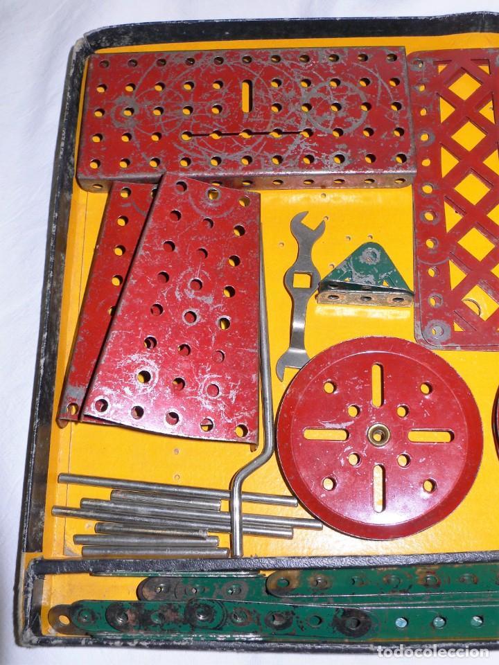 Juegos construcción - Meccano: ANTIGUO MECCANO 1 EN CAJA E INSTRUCCIONES - Foto 4 - 245611945
