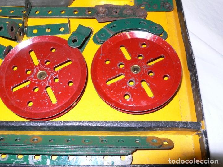 Juegos construcción - Meccano: ANTIGUO MECCANO 1 EN CAJA E INSTRUCCIONES - Foto 6 - 245611945