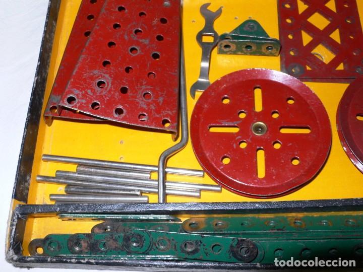 Juegos construcción - Meccano: ANTIGUO MECCANO 1 EN CAJA E INSTRUCCIONES - Foto 7 - 245611945