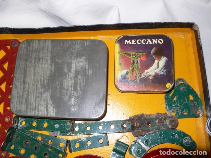 Juegos construcción - Meccano: ANTIGUO MECCANO 1 EN CAJA E INSTRUCCIONES - Foto 9 - 245611945