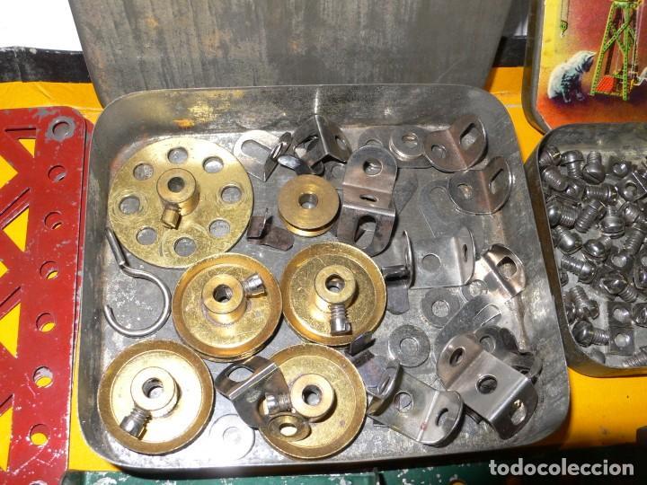 Juegos construcción - Meccano: ANTIGUO MECCANO 1 EN CAJA E INSTRUCCIONES - Foto 10 - 245611945