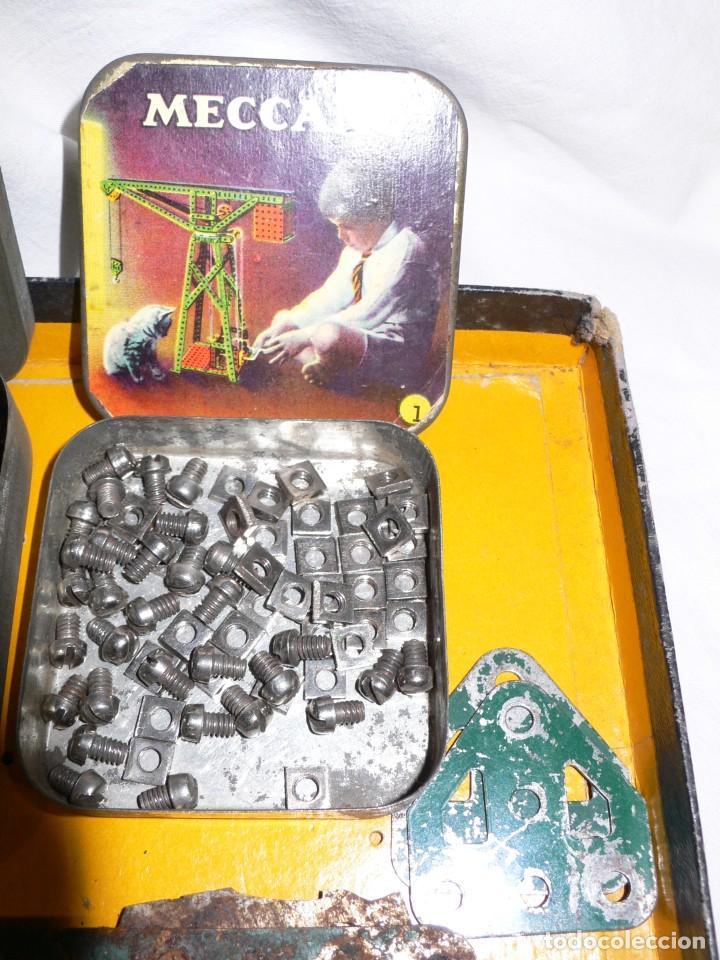 Juegos construcción - Meccano: ANTIGUO MECCANO 1 EN CAJA E INSTRUCCIONES - Foto 11 - 245611945