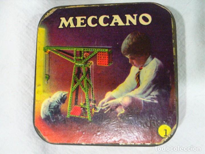 Juegos construcción - Meccano: ANTIGUO MECCANO 1 EN CAJA E INSTRUCCIONES - Foto 12 - 245611945