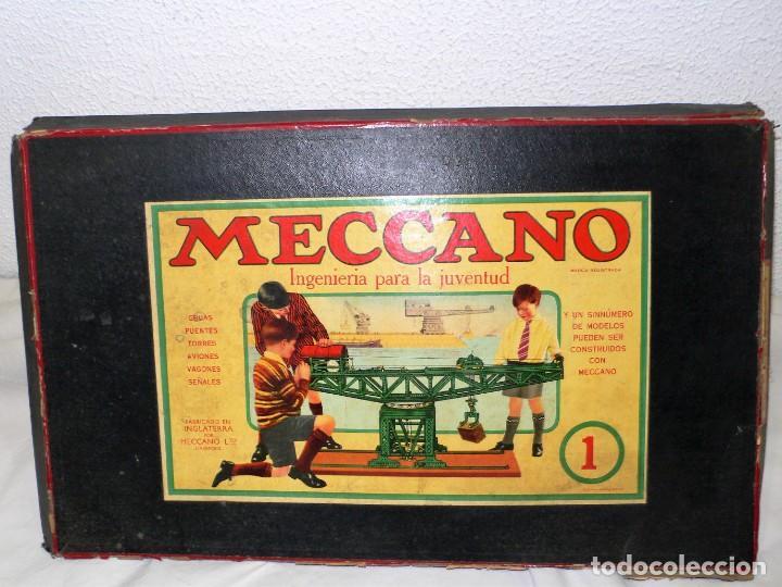 Juegos construcción - Meccano: ANTIGUO MECCANO 1 EN CAJA E INSTRUCCIONES - Foto 14 - 245611945