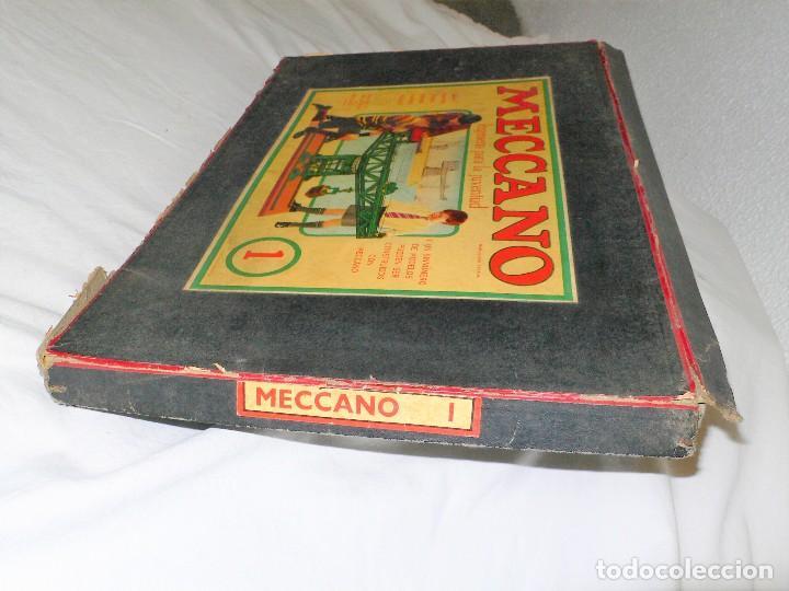 Juegos construcción - Meccano: ANTIGUO MECCANO 1 EN CAJA E INSTRUCCIONES - Foto 21 - 245611945