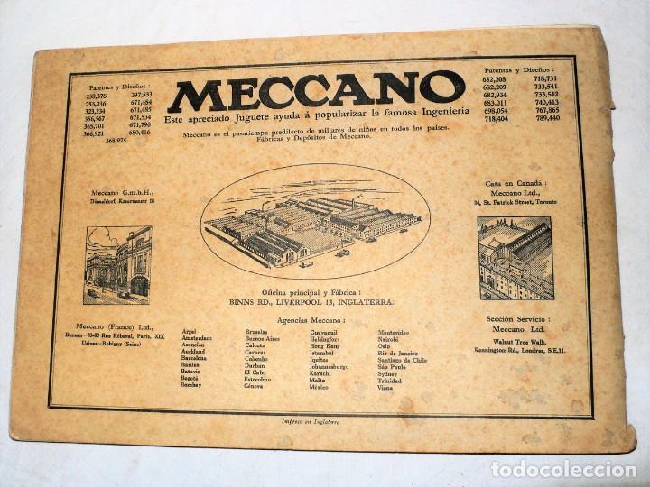 Juegos construcción - Meccano: ANTIGUO MECCANO 1 EN CAJA E INSTRUCCIONES - Foto 23 - 245611945