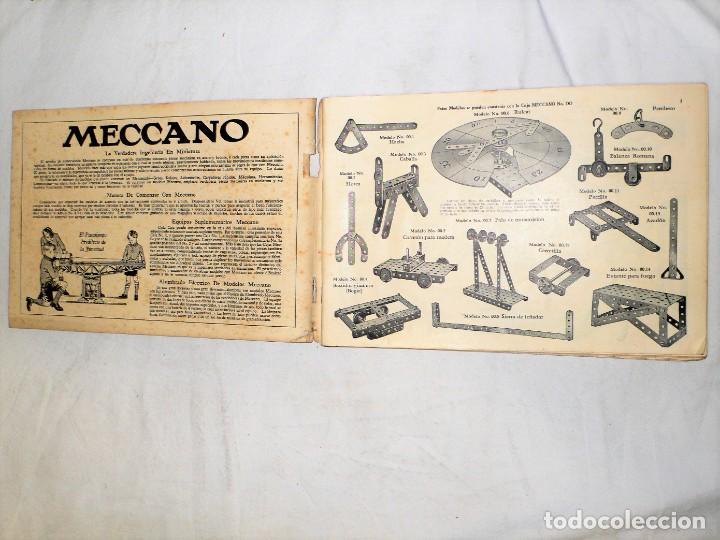 Juegos construcción - Meccano: ANTIGUO MECCANO 1 EN CAJA E INSTRUCCIONES - Foto 24 - 245611945