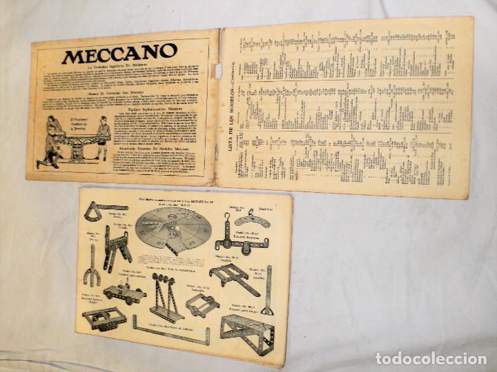 Juegos construcción - Meccano: ANTIGUO MECCANO 1 EN CAJA E INSTRUCCIONES - Foto 27 - 245611945