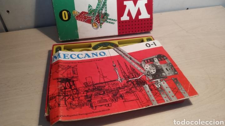Juegos construcción - Meccano: Meccano número 0 casi completo - años 60 - Foto 2 - 245889290