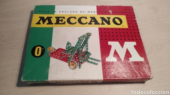 MECCANO NÚMERO 0 CASI COMPLETO - AÑOS 60 (Juguetes - Construcción - Meccano)