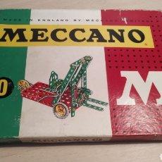 Juegos construcción - Meccano: MECCANO NÚMERO 0 CASI COMPLETO - AÑOS 60. Lote 245889290