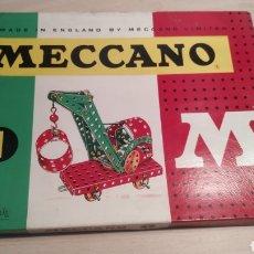 Juegos construcción - Meccano: MECCANO NÚMERO 1 CASI COMPLETO- AÑOS 60. Lote 245889540